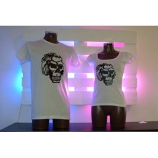 Monkey dj Skull White