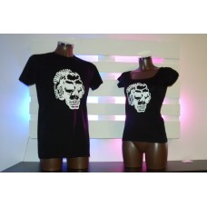 Monkey dj skull Black